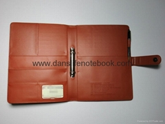 A4 Size Pu Leather Filofax With Customized Logo from China direct factory