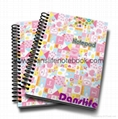 Colored glitter cover notes with lined pages_China printing factory 3