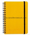 Colored glitter cover notes with lined pages_China printing factory 5