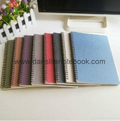 Colored glitter cover notes with lined pages_China printing factory
