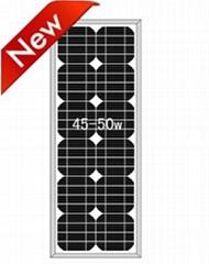 全新A片高效单晶硅太阳能电池板45W-50W