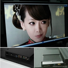 led touch screen monitor with front touch screen frame