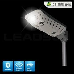 all in one high lumens ultra bright solar garden led light