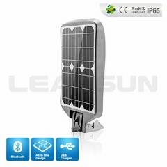 PBOX Integrated solar green energy wireless bluetooth speaker lights