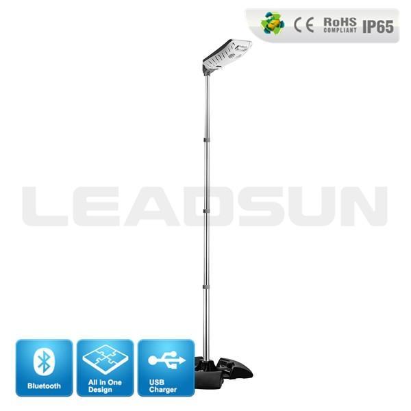 2015 Integrated solar power 3w led steet lights wall lamp outdoor light 1