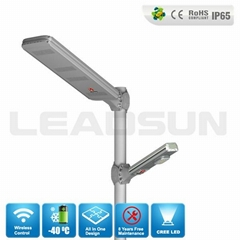 High Power Led Decorative Outdoor Solar Lighting with remote control