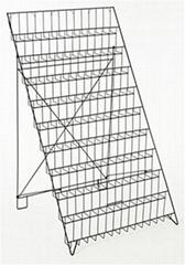 10-Tiered Wire Literature Stand