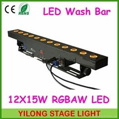 12X15W RGBAW 5 in 1 洗牆燈