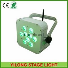 9X15W RGBAW電池PAR燈