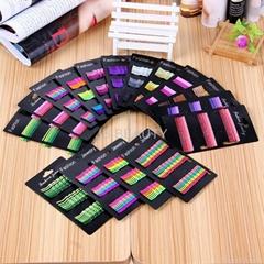 24 pcs Colourful wave hair clips