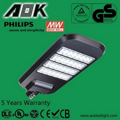 Reliable and High Efficiency Power Supply Shoe Box LED Street Light