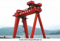 矿山造船门式起重机 造船龙门