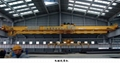 Overhead crane with Magnetic chuck