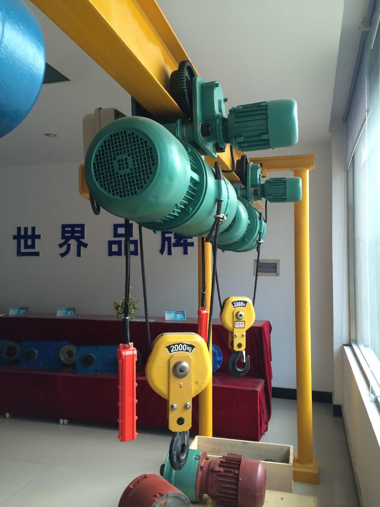 五吨双钩电动葫芦