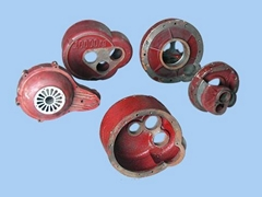 Electric hoist reducer in the attachment