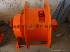 Gantry crane cable reel