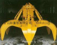 Electric hydraulic grab