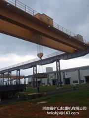 Electromagnetic bridge crane hook