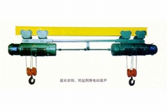 The synchronous coupling electric hoist