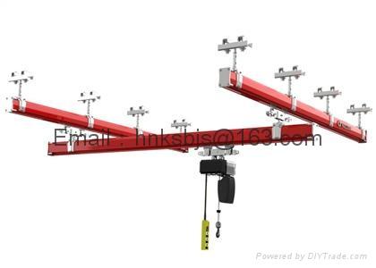 KBK單梁懸挂起重機-組合工位起重機