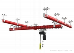 KBK flexible crane advertising features