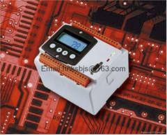 Digital display electric safety monitor