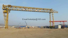 Engineering gantry crane