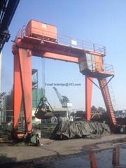 Double beam doumen crane