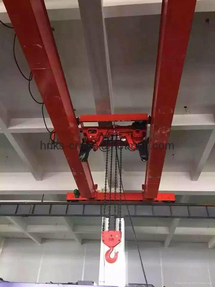 環鏈葫蘆雙梁起重機