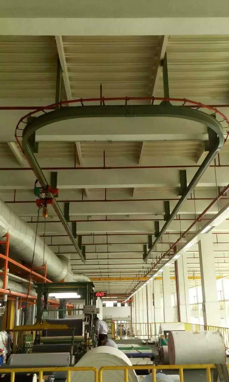 弯道葫芦在造纸工业应用