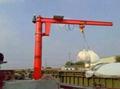 運河碼頭--旋臂起重機