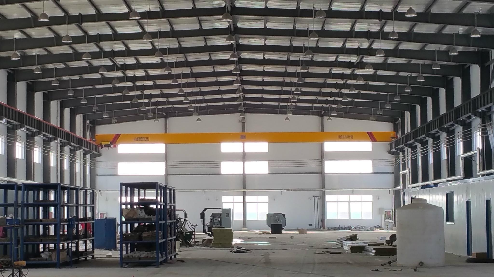 新型欧式单梁起重机--河南省矿山起重机有限公司