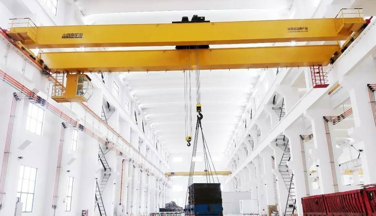 新型欧式桥式起重机--河南省矿山起重机有限公司