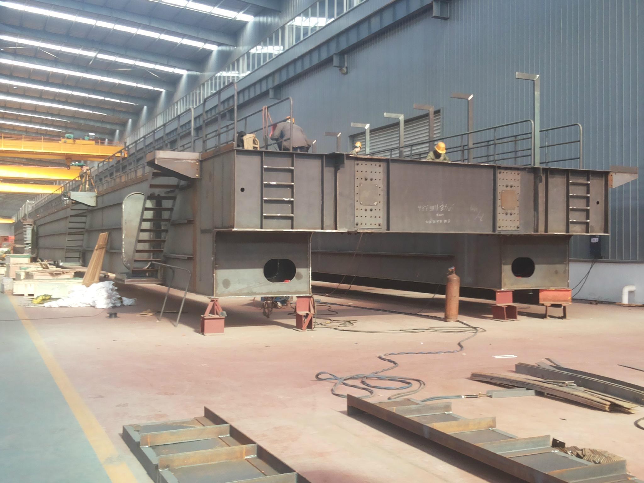 为宝钢公司打造的精品--河南省矿山起重机有限公司
