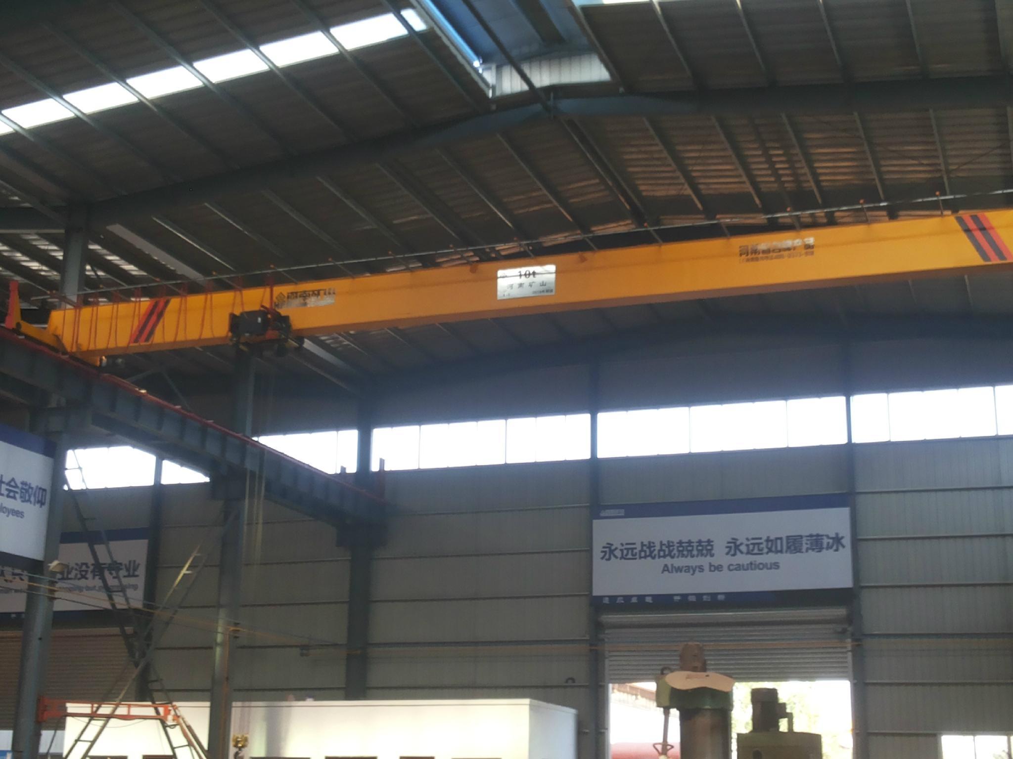 欧式单梁起重机--河南省矿山起重机有限公司