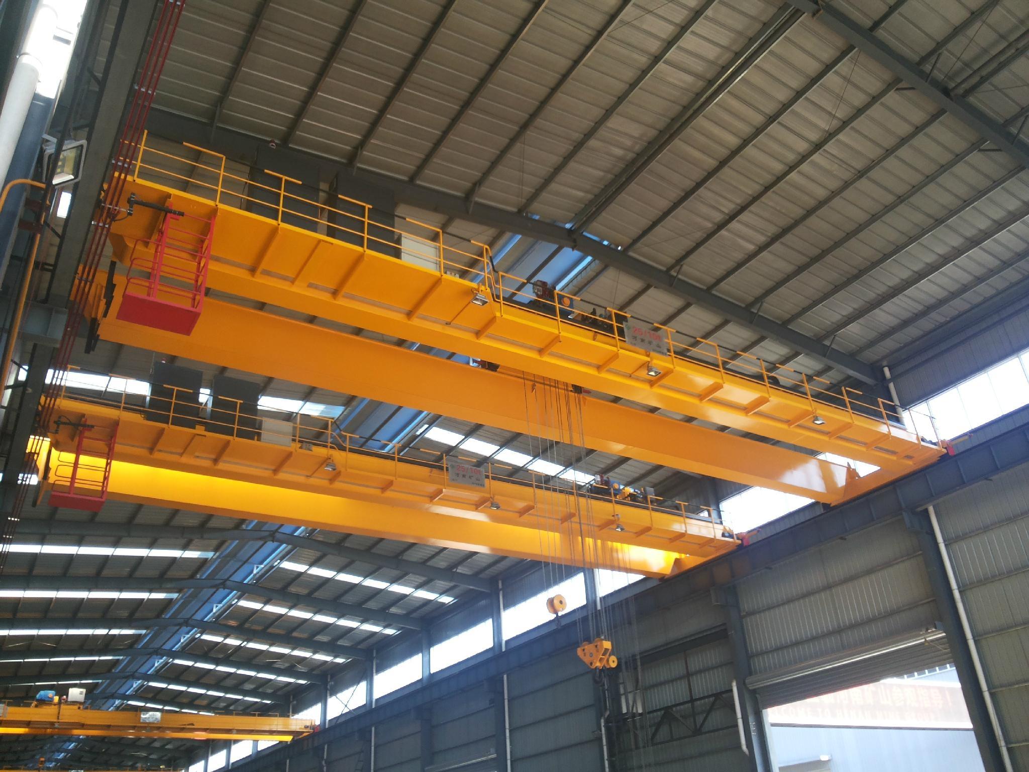 公司自用的欧式起重机--河南省矿山起重机有限公司