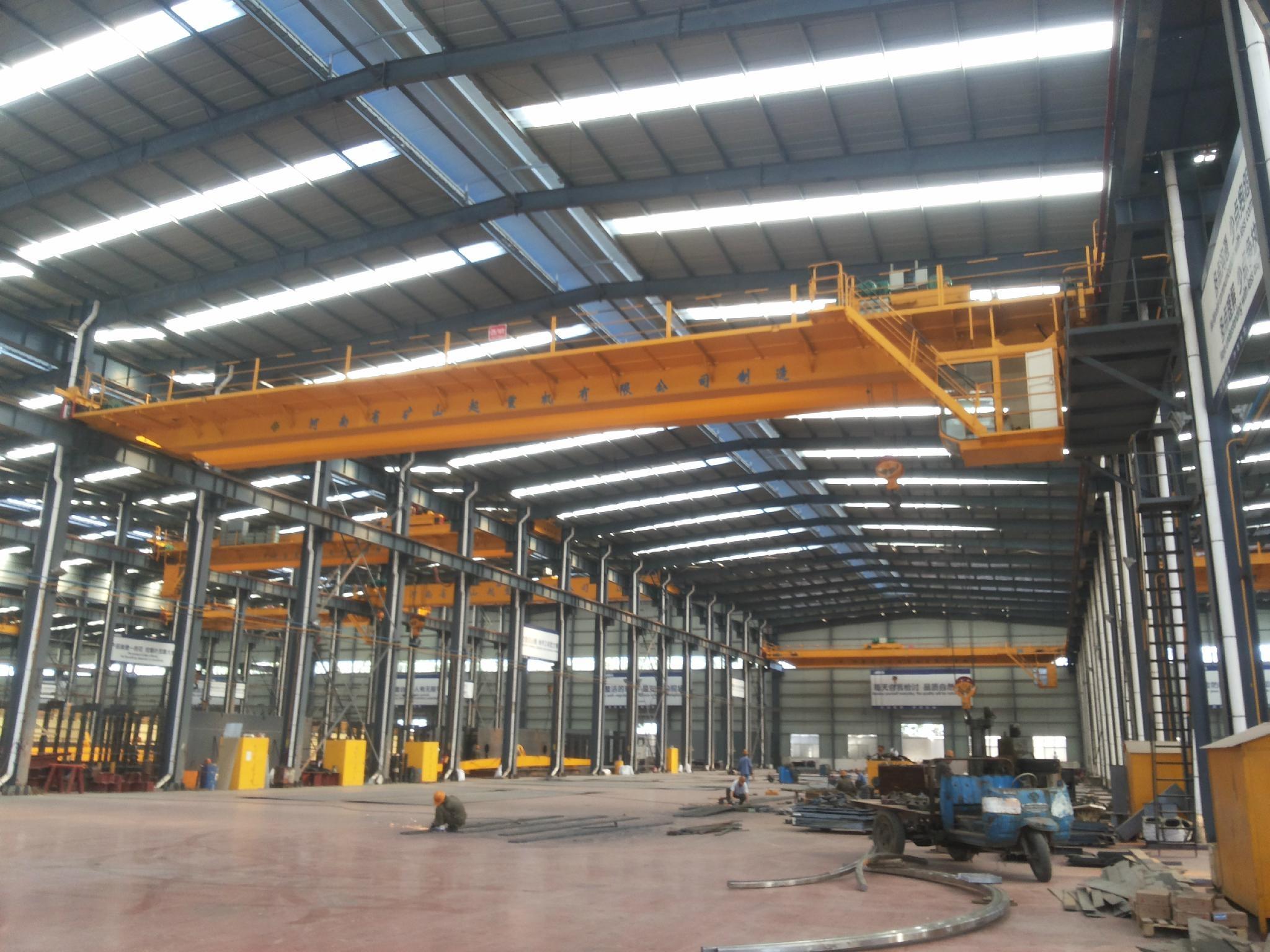 QD双梁桥式起重机--河南省矿山起重机有 限公司