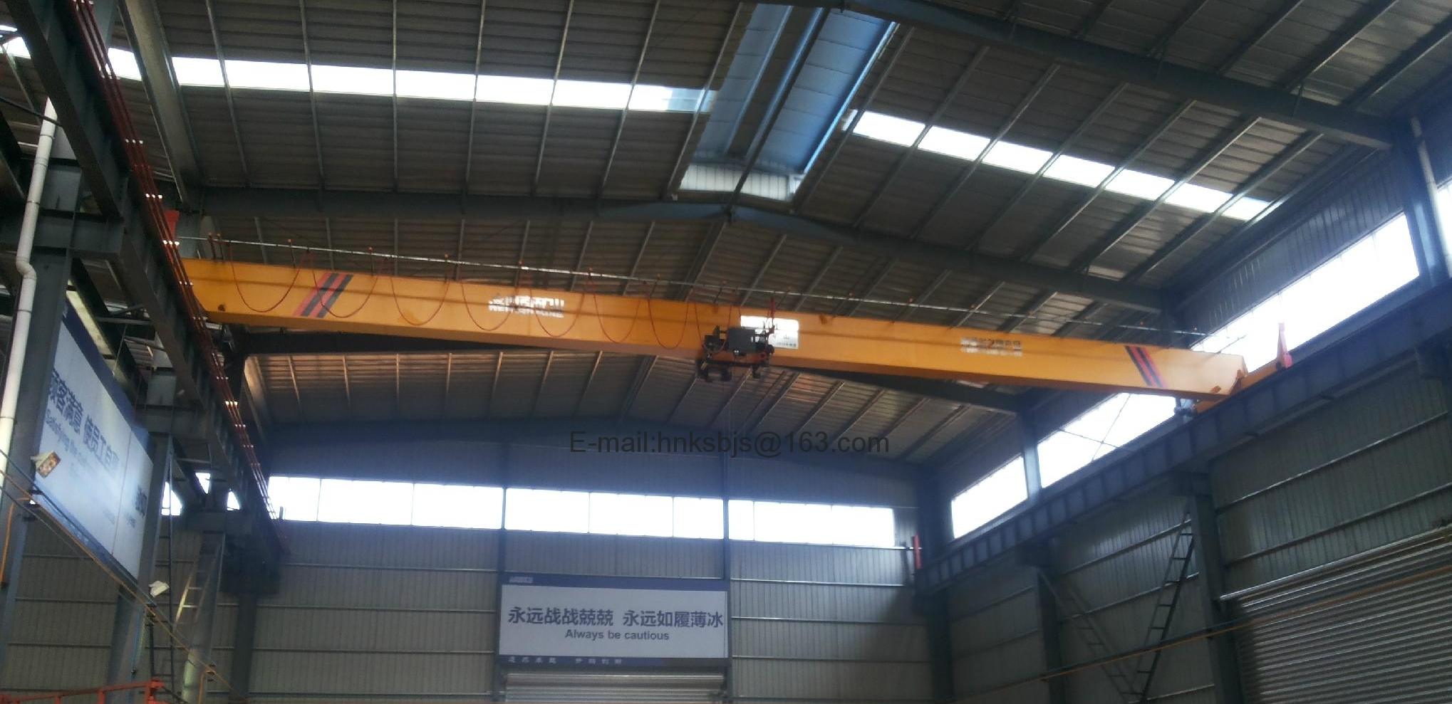 河南省矿山起重机有限公司-欧式单梁起重机