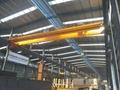 Double beam bridge crane electric hoist used in building the factory