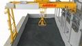 MHB电动葫芦半门式起重机 半龙门