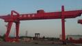 U 10-50/10 tons double beam hook gantry