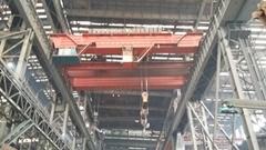 矿山吊钩式铸造起重机