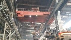 Mining metallurgical crane