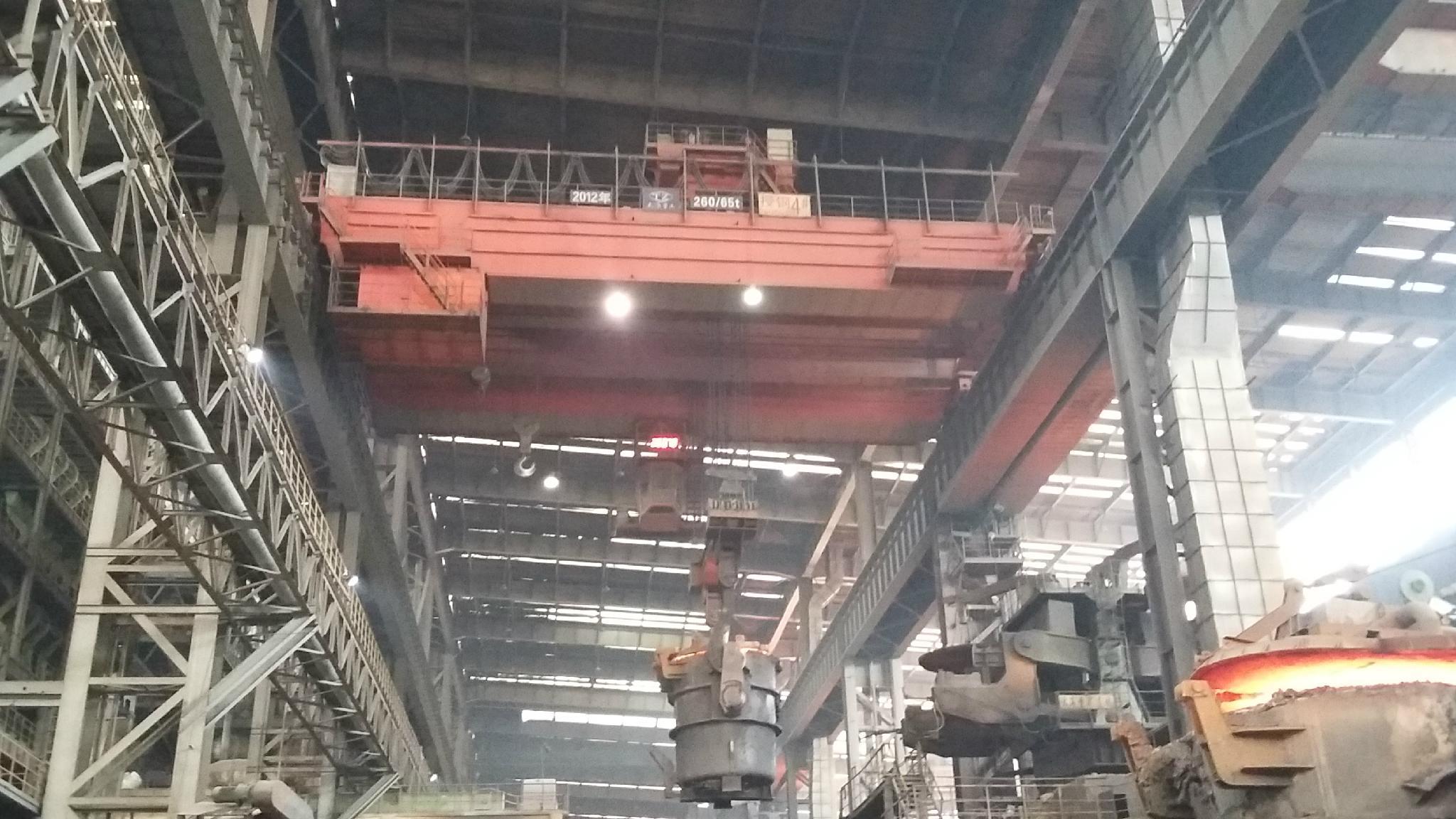 四梁鑄造橋式起重機 冶金吊
