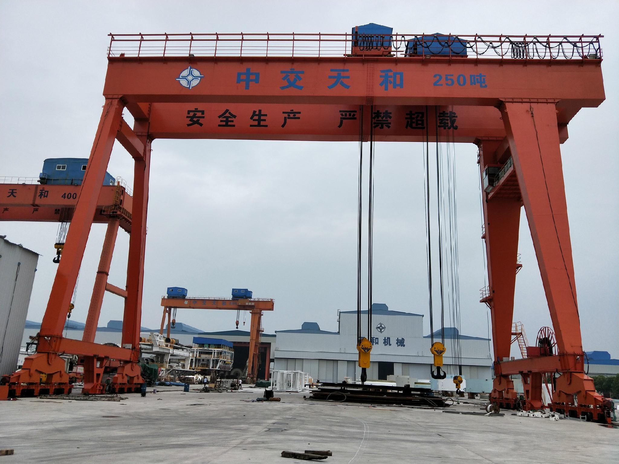 250吨龙门起重机