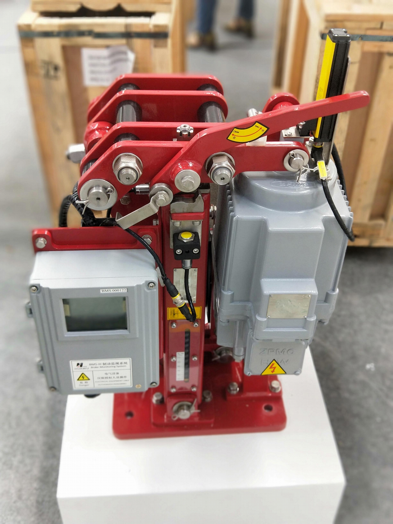 起重機電動液壓制動器 8