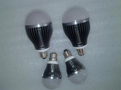 LED鰭片球泡燈3-18W