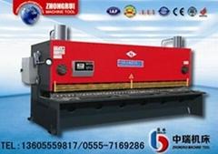 QC12K系統液壓擺式數控剪板機