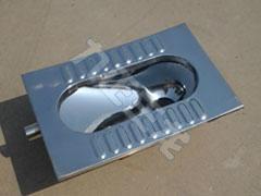 不锈钢蹲便器 工程用 监狱用 304材质 3