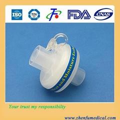 Disposable medical HME filter
